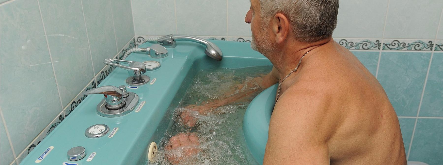 Хлоридно-натриевые ванны