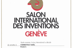Международная выставка изобретений г. Женева Швейцария 2009 г. Награда за БИШОФИТ-гель