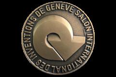Бронзовая медаль за продукт БИШОФИТ-ГЕЛЬ. Международная выставка изобретений г. Женева, Швейцария, 2009 г.